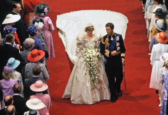 "Lady Diana Spencer became the Princess of Wales when she married Prince Charles on July 29, 1981, at just 20 years old.    During the ceremony Diana accidentally reversed the order of Charles' first two names, saying Philip Charles Arthur George instead. The couple also left the ""obey him"" vow out of their ceremony."