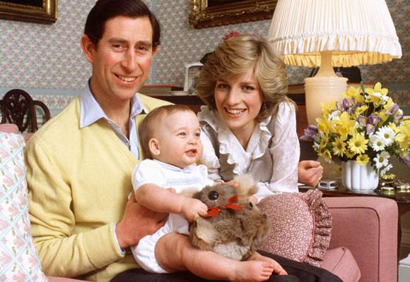 Two years after Prince William was born Diana announced that she was expecting the couple's second child.