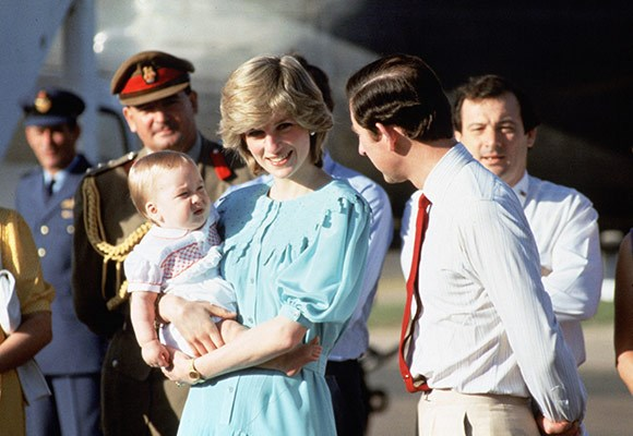 "Dubbed the ""rebel royal mum"" Princess Diana was against arms-length parenting, much like William and Catherine.    Diana insisted on taking nine-month-old William on tour with her and Prince Charles to Australia. Catherine is expected to have a similar parenting style."