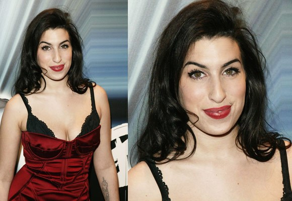 It's hard to believe that Amy Winehouse once looked this healthy! She went from looking like this at the beginning of her career to...