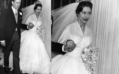 Stunning royal wedding gowns and crowns