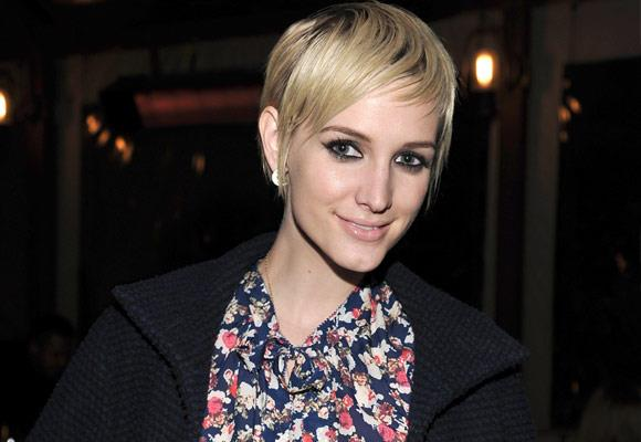 ...to rocker Pete Wentz's wife. She has had a number of hairstyle changes along this way, but this is her latest 'do.