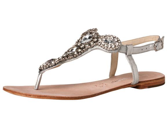 """Summer flats are a must and don't be afraid to add a bit of sparkle or neon colour.    Try: Windsor Smith Santorini Sandals, $139.95.    **[Available at www.windsorsmith.com.au.](http://www.windsorsmith.com.au/