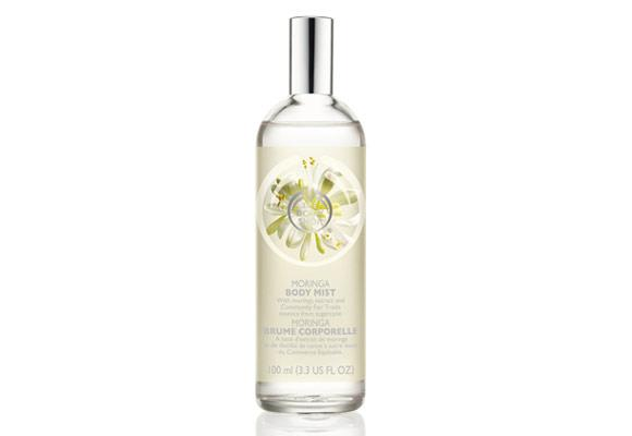 """There's is nothing better than a cool mist during the hot summer months, so keep a body mist close by.    Try: Moringa Body Mist, $23.95.    **[Available at www.thebodyshop.com.au](http://www.thebodyshop.com.au/