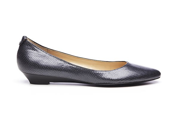 Need comfy shoes to get you to and from the office, but not a fan of the sneakers/business attire look? These pointed toe Itsonn flats ($119.95) from [**Nine West**](http://www.ninewest.com.au/flats/itsonn/w2/i1576951_1433824/)  will have you walking to work in style. The slight wedge heel elongates legs so they still look great in skirts, while eliminating the risk of heels getting stuck in pavement cracks and escalators.