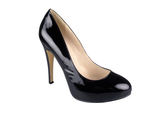 """The Amber black patent leather pump ($139.95) from [**Zoe Wittner**](http://www.wittner.com.au/shoes/heels/amber-black-patent.html) says """"I mean business"""", but is also a wonderful shoe to hit the town in afterwards for corporate functions or post-work drinks."""