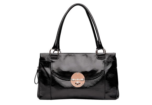 If you've ever admired a sexy-looking handbag on the bus or subway during the ride to work, then you know that a stylish carry case for all your office papers is absolutely essential. The Turnlock Worker ($549) from [**Mimco**](http://www.mimco.com.au/turnlock-worker-1) features a separate zipped compartment for your laptop or iPad.