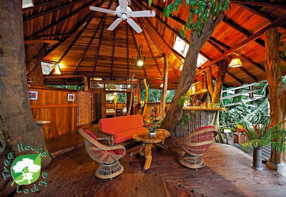 This destination isn't just off the beaten track, it's off any track whatsoever: nestled high up in the beautiful Costa Rican canopy. Comfortable and serene, the treehouse makes a top choice for lovers who don't want their feet planted firmly on the ground. *Image courtesy Costa Rica Tree House Lodge*