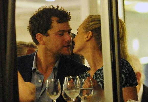 """Over dinner in Cannes a smitten Jackson looks like he's come a long way since his first date with Kruger — which he says was """"miserable"""". The German actress has said she doesn't """"believe in marriage"""" after a failed first attempt, but JJ said: """"Never say never!"""" Watch this space. *Images: Snapper Media*"""