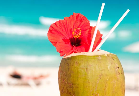 Coconut water contains more electrolytes than most fruit juices and energy drinks without the extra sugar and artificial flavourings. It also naturally speeds up your metabolism and gives you more energy so you can work out longer with more intensity to lose weight faster.