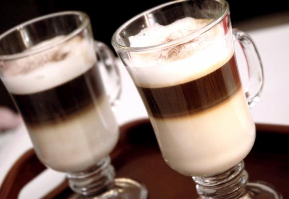 When your coffee of choice is a caramel cappuccino, more than just a few calories sneak into your daily calorie allowance. Even a seemingly innocent blended iced coffee can have almost 200 calories—and that's one of the lower-calorie coffee drinks.