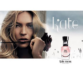 Model Kate Moss has released her own fragrance, Kate, which she says makes her feel fresh and light and sexier as the day goes on. Women everywhere would love to feel like that!