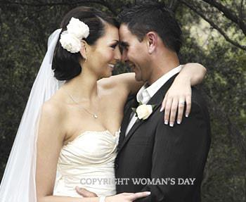 Six years after meeting **Jamie Babbington**, singer **Ricki-Lee Coulter** became his wife in a ceremony on the Gold Coast in September 2008. Sadly, the couple split after only one year of marriage.