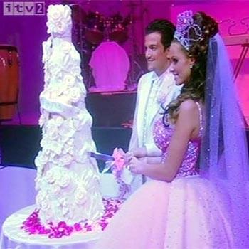 The recently divorced Katie Price and Peter Andre married in 2005 after starring together in the reality TV show *I'm a Celebrity... Get Me Out of Here!* These two would have to win the most OTT award for their fairytale-style wedding — they even had a pumpkin coach!