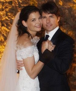 Superstar Tom Cruise tied the knot with young starlet Katie Holmes in 2006.