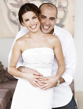 """*Home and Away* star **Ada Nicodemou** tied the knot with fiancé **Chrys """"Zippo"""" Xipolitas** in February 2007, exchanging vows in a Greek Orthodox service in Sydney. Before the big day, Ada joked, """"I'd love it to be a small, intimate occasion, but it's two Greeks getting married. We've sort of got the list down to about 400. Welcome to my life!"""""""