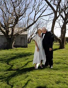 Swimming's former golden girl, **Shane Gould**, dived into marriage with her long-time partner, American swimming performance consultant **Milt Nelms**. The couple had an intimate, getaway wedding in the romantic shadow of a ruined convict barracks in north-west Tasmania.