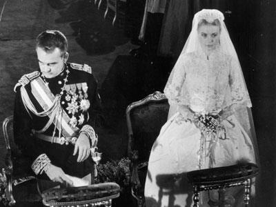 In the days before paparazzi and tabloids, one celebrity wedding captured the world's attention back in 1956. The marriage of American film star Grace Kelly and Monacan Prince Ranier was broadcast to over 30 million viewers worldwide.
