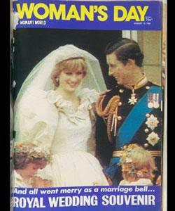 """Sadly Charles and Di didn't live """"happily ever after"""" following their fairytale wedding in 1981."""