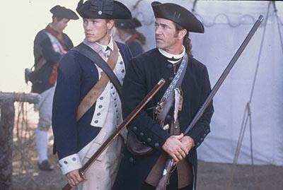 It wasn't long before Hollywood called and Heath starred alongside Mel Gibson in *The Patriot*.