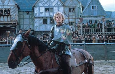 *A Knight's Tale* saw Heath bloom as a Hollywood leading man.