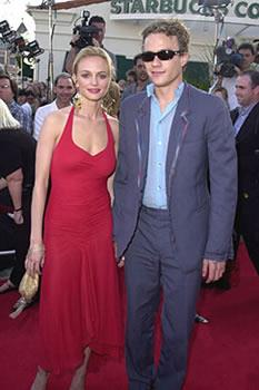 His Hollywood career lead to romance with fellow star Heather Graham.
