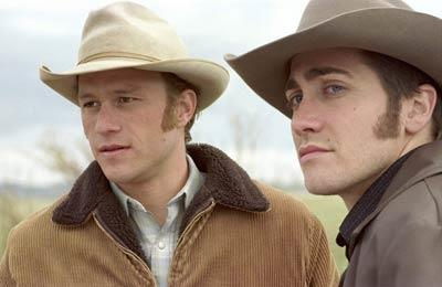 Heath received critical acclaim for his performance in *Brokeback Mountain* alongside Jake Gyllenhaal.
