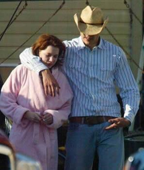 It was on the set of *Brokeback Mountain* that Heath met and fell for co-star Michelle Williams.