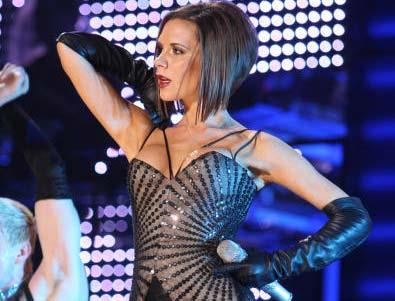 It had been a decade since the group hit the stage together, but Posh showed she still had some spicy moves while on The Return of Spice Girls World Tour in February this year.