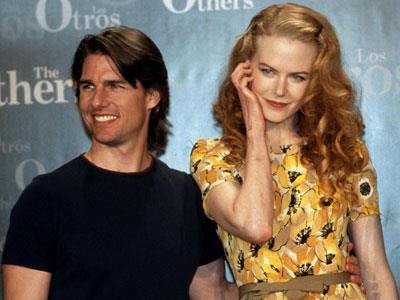 Is Nicole happier with Keith than she was with Tom Cruise? Compare her coy body language in this image...