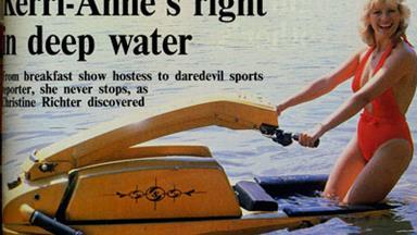 Kerri-Anne's wacky 80s album