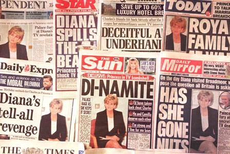 The next day, headlines about Diana's candid interview ran wild.