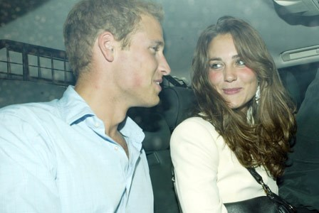 "Prince William and Kate Middleton's on-again, off-again relationship makes headlines, with Kate nicknamed ""Waity Katey"" by UK press."