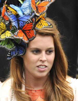 Princess Beatrice has been slammed for her fashion sense and gained attention with a love-it-or-hate-it butterfly headpiece. Her Royal wedding hat also gained her a lot of unwanted attention.