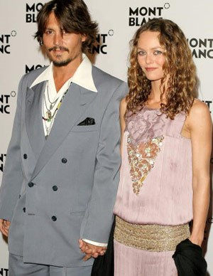 Johnny Depp's romantic past