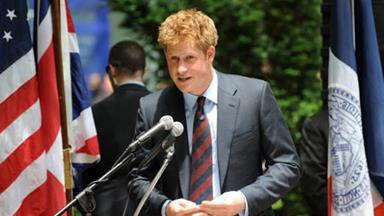 Prince Harry a hit in NYC!