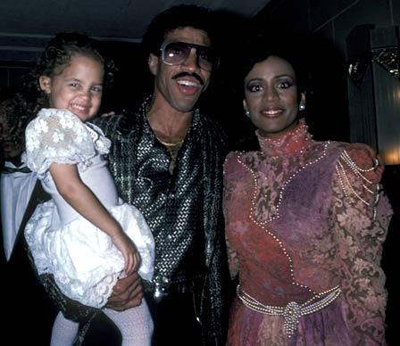 """The singer and his then wife Brenda adopted two-year-old Nicole in 1983. These days mum-of-two Nicole prefers to only identify her birth parents as """"friends of Lionel's""""."""