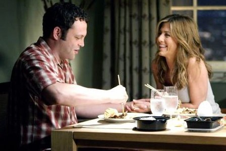 Jen dated Vince Vaughn, her co-star on 'The Break-Up' between 2005 and 2006.