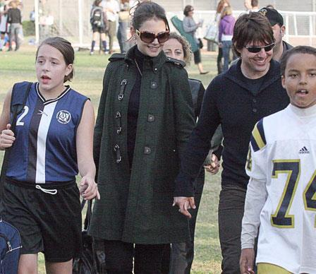 When Tom started dating Katie Holmes, Isabella's stepmother-to-be was a constant presence at her weekend soccer games.