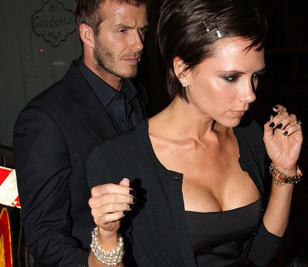 Victoria Beckham's painful-looking breast implants recently came down a few sizes. She underwent surgery in July 2009 to have them reduced in order to fit her new image as a fashionista.