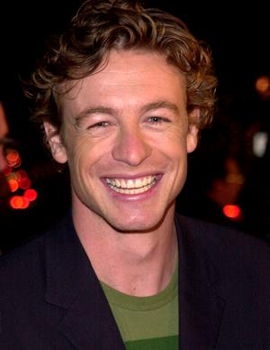 Aussie soap star Simon Baker had a number of Aussie roles including Constable Sam Farrell on *E Street* and James Healey on *Home and Away*.