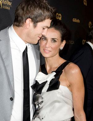 Demi Moore, 47, and Ashton Kutcher, 31, tied the knot in 2005 after dating since 2003. Demi legally changed her name to Demi Kutcher in 2009, but continues to use Moore as her professional name. The pair regularly share their love for each other on social networking site Twitter.