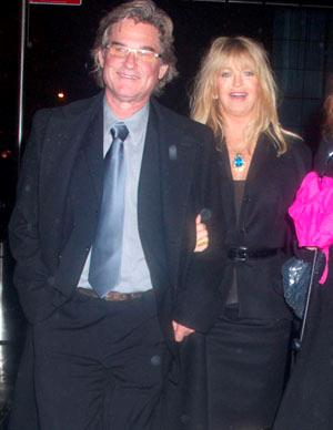 Marriage doesn't seem to be on this couple's to-do list, but they say that suits them just fine. Goldie Hawn and actor Kurt Russell have been in a relationship since 1983 when they met on the set of the movie *Swing Shift* . The couple have a son together, Wyatt Russell, and Goldie is step mother to Kurt's son Boston.