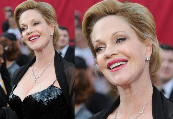 The legendary actress recently walked the red carpet at the 2010 Academy Awards with husband Antonio Banderas by her side. This year she will continue to star in the TV series Nip/Tuck as Brandie Henry.