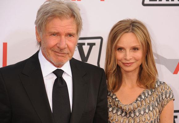 Known for guarding his private life, it's no surprise that he married his long time partner Calista Flockhart at a secret ceremony in Santa Fe, New Mexico on June 15 2010.