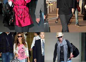 What's your celebrity travel style?