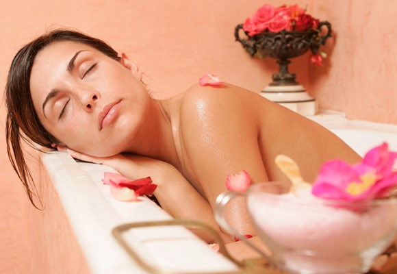 Organise to have a massage every once in a while. And have a bath at least once a week.