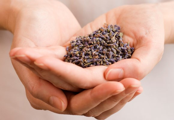 Burn candles and essential oils that are soothing. The best scents for relaxation and stress relief include lavender oil.