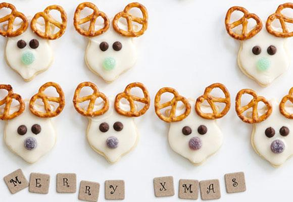 """**Reindeer cookies** <br><br> These adorable (and delicious) reindeer cookies and perfect for Christmas time. Make them with the family for a fun day baking, or give them as gifts to your loved ones. <br><br> [**Read the full recipe here**](https://www.womensweeklyfood.com.au/recipes/reindeer-cookies-7244