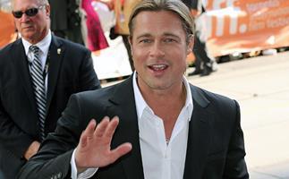 He's here! Brad Pitt arrives in Australia